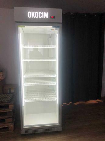 Witryna chłodnicza UBC 75/78/210 cm. Chłodziarka, lodówka sklepowa.