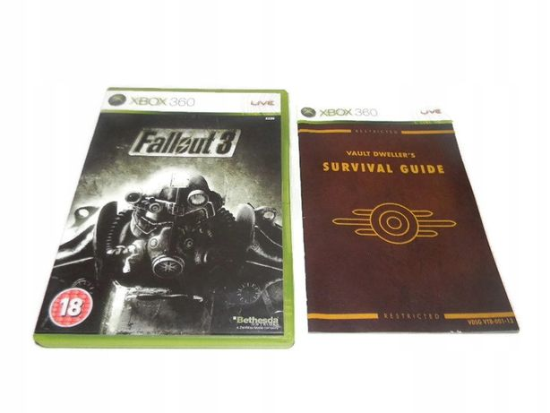 Fallout 3 Xbox 360 / Xbox One !