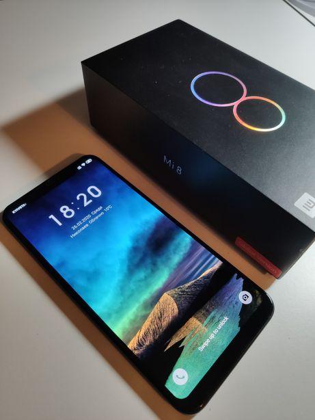 Телефон смартфон на 2 сим-карты Xiaomi Mi 8, 64 Гб