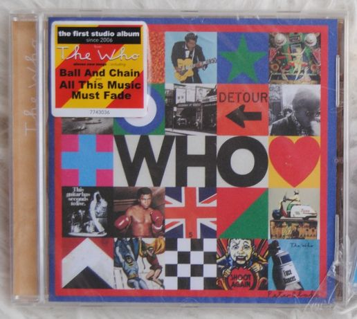 The Who*the first studio album 2006/CD Nowa