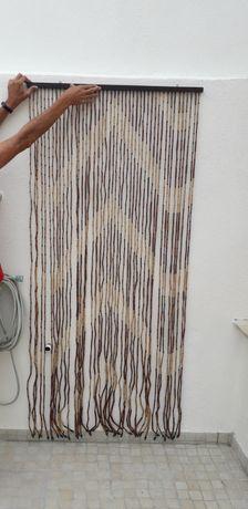 Cortina para porta exterior - estilo africana