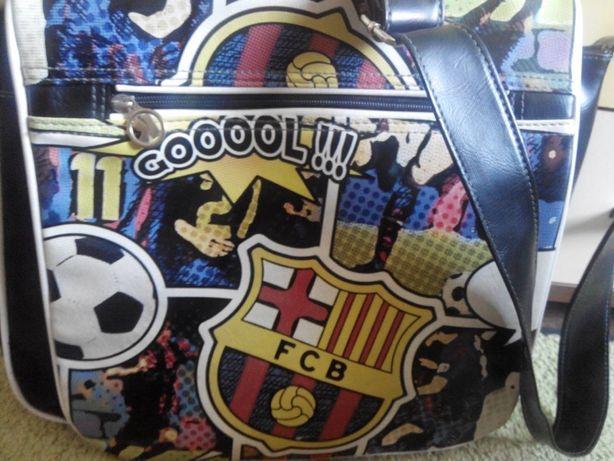 спортивная сумка через плечо fc Barcelona оригинал