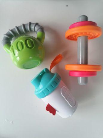 Grzechotki zabawki niemowlęce
