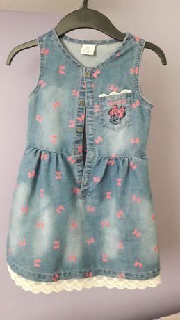 Urocza sukienka Myszka Minnie