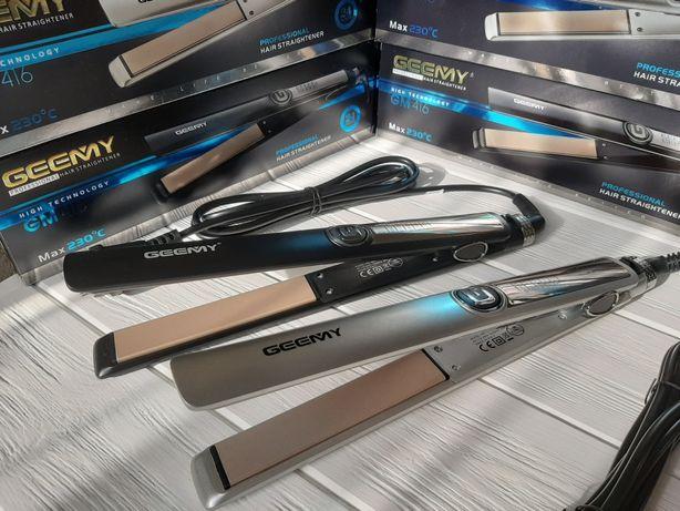 Утюжок профессиональный выпрямитель для волос Gemei GM-416 .GEEMY