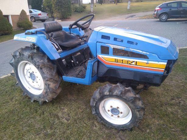 Traktor ciągnik iseki tu 205 uszkodzony