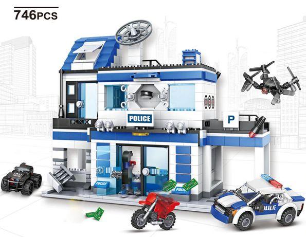Posterunek Policji klocki z LEGO kompatybilne