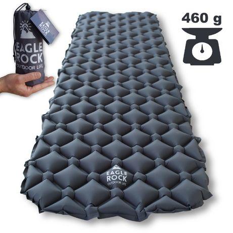 Надувний туристичний килимок каремат Eagle Rock 40DNylon TPU надувний