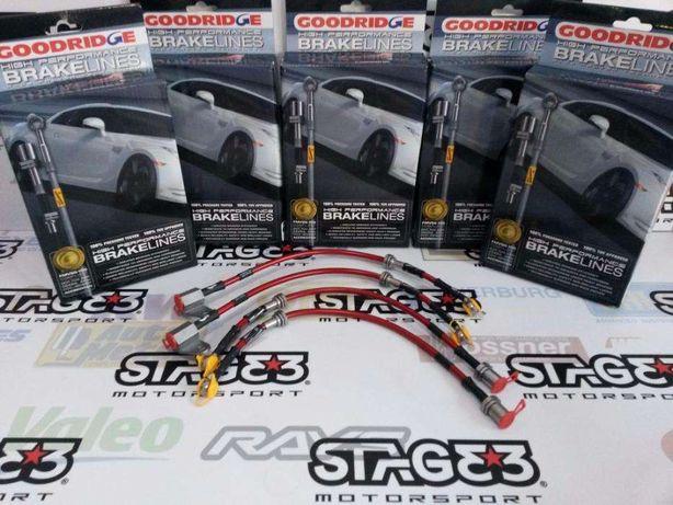 Kit Tubos Travagem Goodridge Malha Aço Travão BMW E30 E36 Toyota AE86