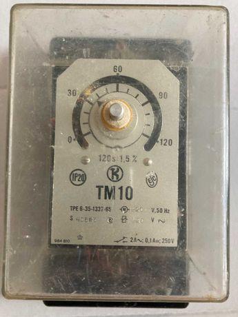 Реле времени ТМ 10 на 120 s электромеханика 220 v
