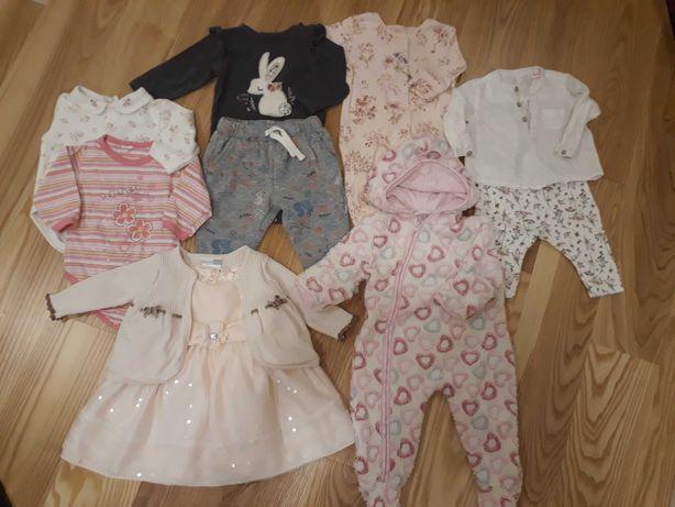 Ubranka dla dziewczynki, 3 miesiące, 68