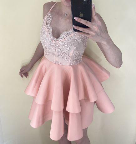 Кукольное коктейльное платье колокольчик