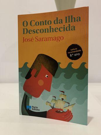 """""""O Conto da Ilha Desconhecida"""" - José Saramago"""