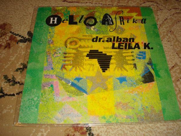 Płyty winylowe Dr.Alban Feat.Leila K. -Hello Africa Maxi