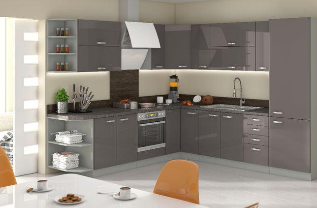 Nowoczesna Kuchnia meble kuchenne IGA systemowa modułowa NAROZNA 5 dni