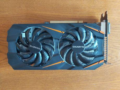 karta graficzna NVIDIA gigabyte geforce GTX 1060 WF2 OC 6GB