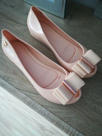 Baleriny gumowe różowe