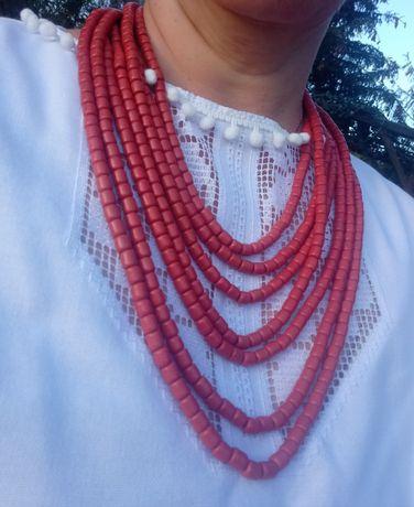 Korale góralskie ludowe 7 sznurów