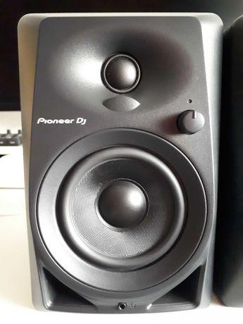 Monitores estúdio Pioneer DM 40 (garantia/fatura até 12/2021 e caixa)