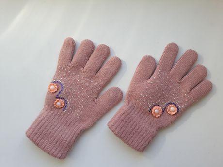 Перчатки для девочки 7 - 11 лет
