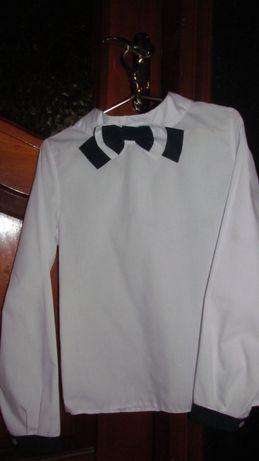 Блуза рубашка на девочку рост 152 см