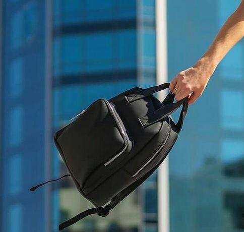 Женский рюкзак в городском стиле, кожаная рюкзак-сумка