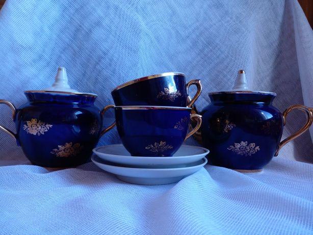 Чайный фарфоровый сервиз на двоих  ...СССР