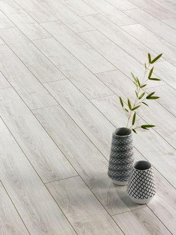 Panele podłogowe Alsafloor Dąb Polarny solid medium Cienka deska AC6