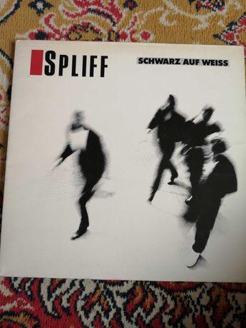 Płyta winylowa spliff schwarz auf weiss