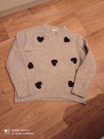 Sweterek zaraz dziewczynka 152