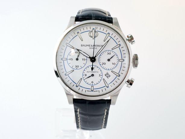 Мужские новые часы Baume & Mercier Capeland Chronograph 42мм
