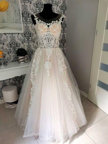 Suknia ślubna efekt wow