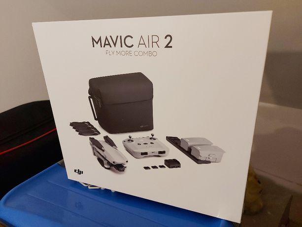 Dron DJI Mavic Air 2 Fly More Combo + fajne dodatki