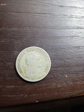 Moeda 1 escudo 1951