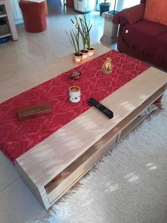 mesa centro e tv