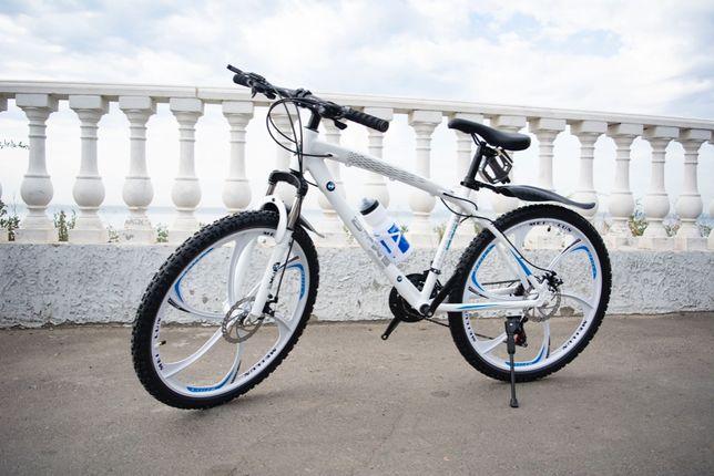 """Горный велосипед BMW 26"""" на литых дисках + подарок (крылья, бутылка)"""