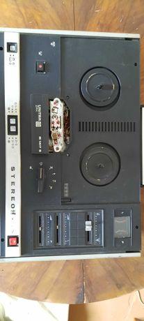 Polski magnetofon stereo - czterościeżkowy, szpulowy