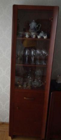 Komoda Witryna, słupek, lustro
