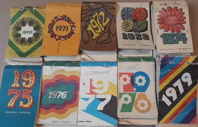 Oryginalna kartka z kalendarza, oryginalne kartki z kalendarza