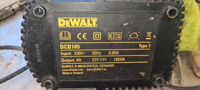 Carregador de baterias dewalt