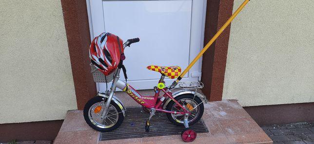 Rowerek dziecieńcy 12Cali  Ładny +kask