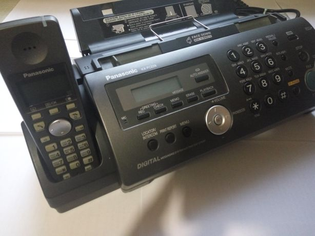 Телефон - факс в состоянии нового