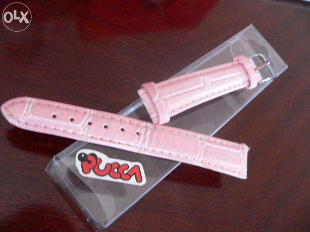 Bracelete original da PUCCA em pele rosa