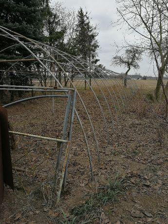 Stelaż do namiotu foliowego, namiot rolniczy