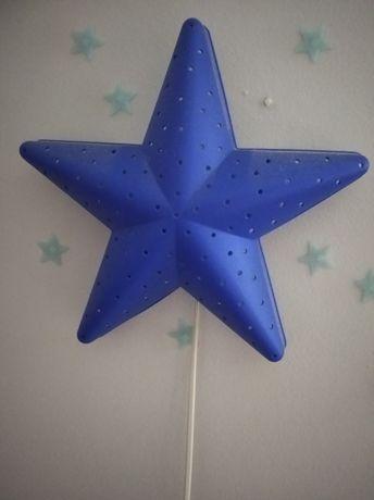 Lampa księżyc i gwiazda Ikea