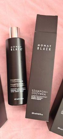 Monat - Szampon+Odżywka - Black 2w1 - Produkt Oryginalny