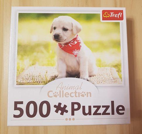 Puzzle TREFL 500 elementów Animal Collection