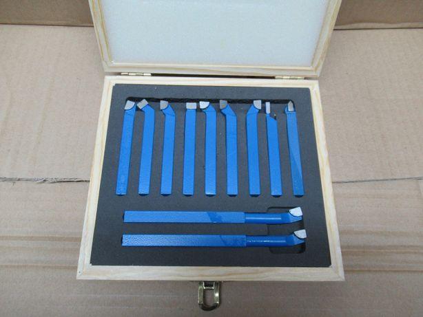 Komplet Noży Tokarskich NOWY 8x8 Zestaw 11el Nóż Tokarski Prawy Lewy