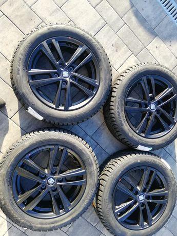 Nowy zestaw Felgi Seat 16 cali z Oponami zimowymi Pirelli 205/55R16