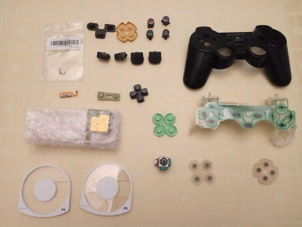 Peças Comando PS2 Nintendo DS Lite 3DS Gameboy Color PSP Dualshock 2